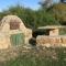 Old Sandstone oven outside \'Hilandi se Veldhuis\'.