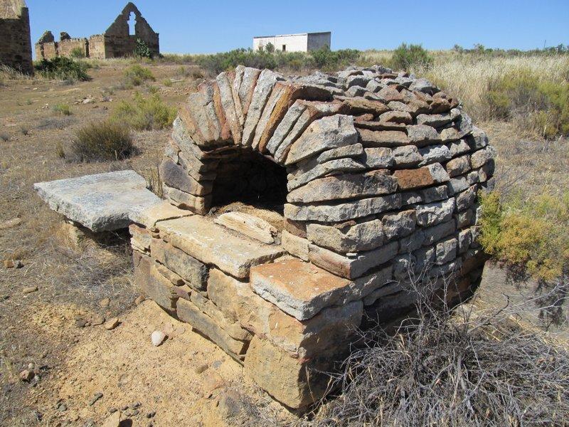 Ruins at 'Ou plaas'